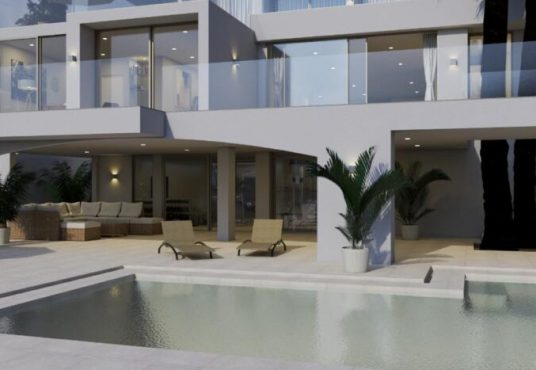 Luxury villa on the seafront in Cala. Matthew Cull Luxury Real Estate